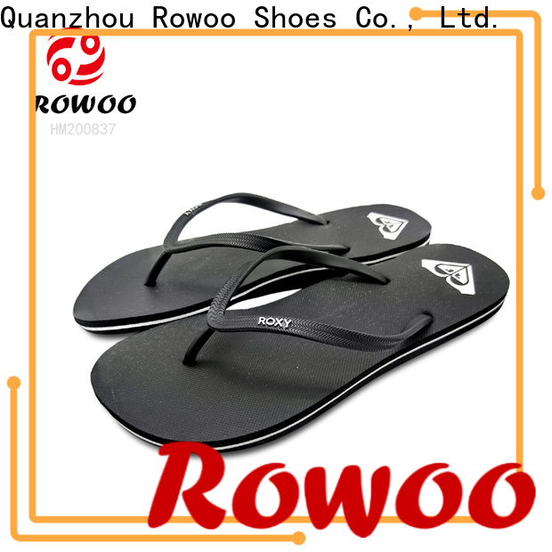 Rowoo china most comfortable flip flops for men