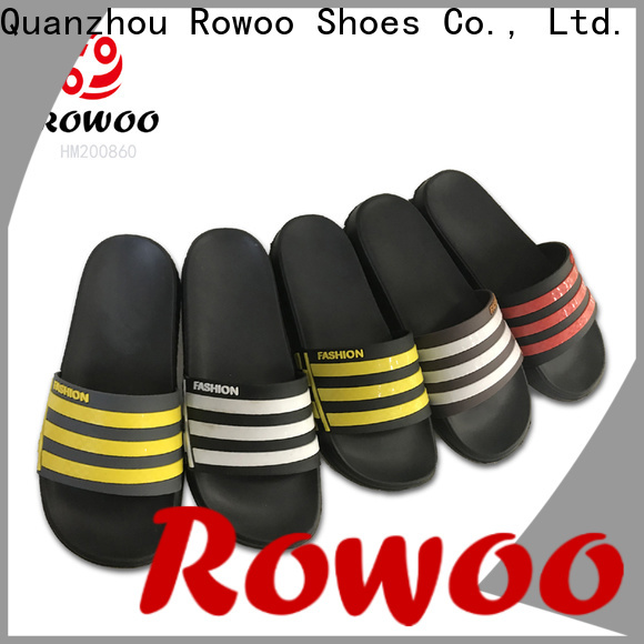 Rowoo men's slide sandals manufacturer