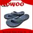 Rowoo mens leather flip flops best price