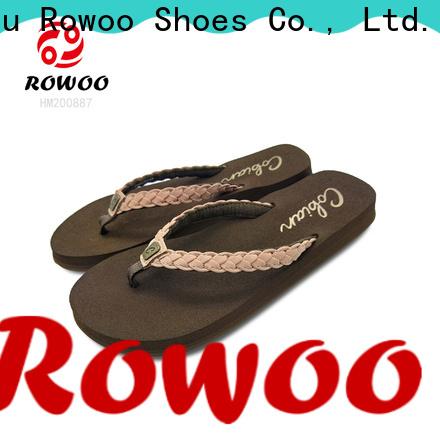 Rowoo designer flip flops womens best price