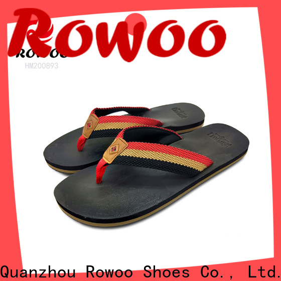 Rowoo flip flop slippers for mens