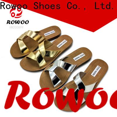 Rowoo Best cheap womens flip flops hot sale