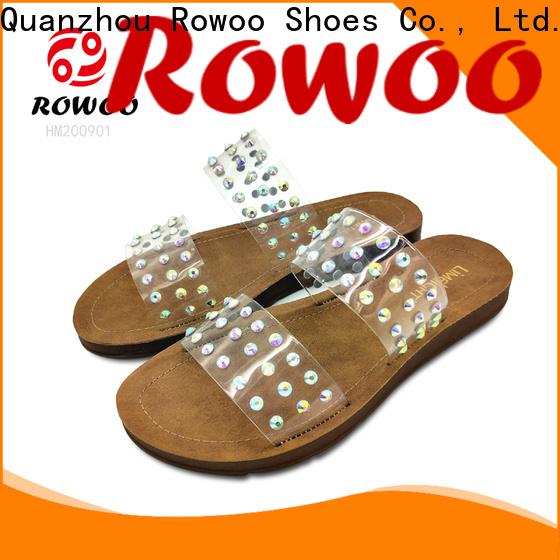 Rowoo popular comfortable ladies sandals manufacturer