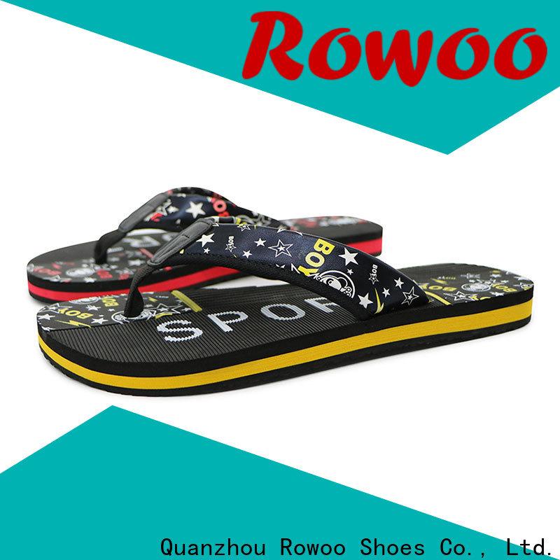 Rowoo professional best mens flip flops manufacturer
