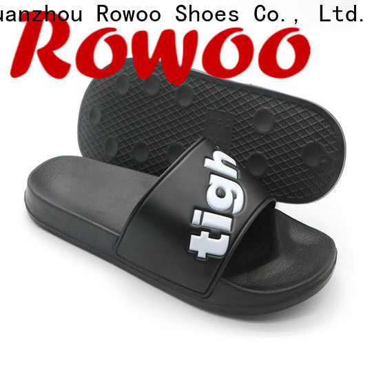 Rowoo professional cheap mens slides factory price
