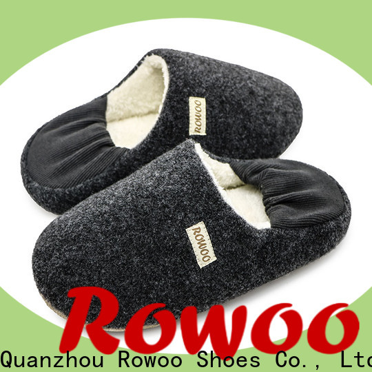 Rowoo best male slippers manufacturer