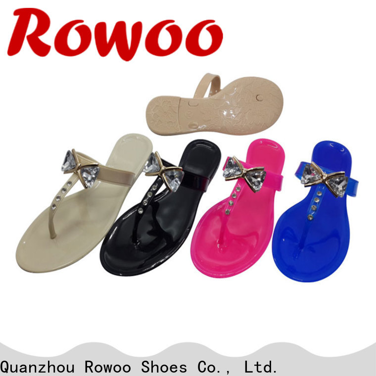 Rowoo New women's slide sandals manufacturer