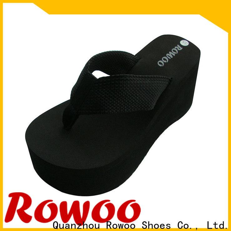 Rowoo good quality high heel house shoes hot sale