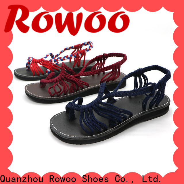 Rowoo best sandals for women factory price