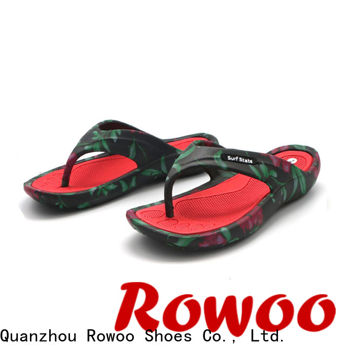 Rowoo wholesale flip flops supplier