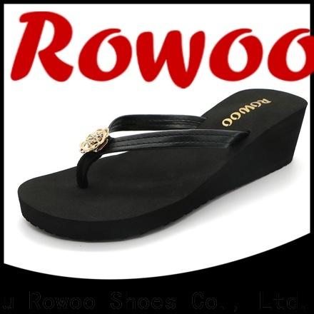 Rowoo platform heels slippers factory price