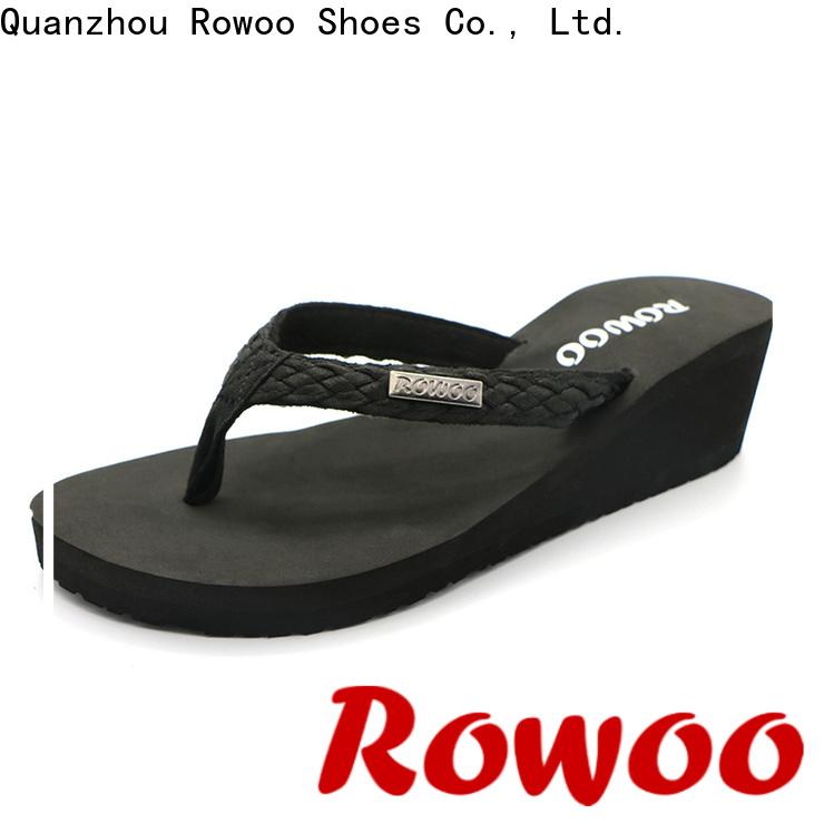 Rowoo Top platform heels slippers