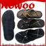 Rowoo Custom mens white flip flops supplier