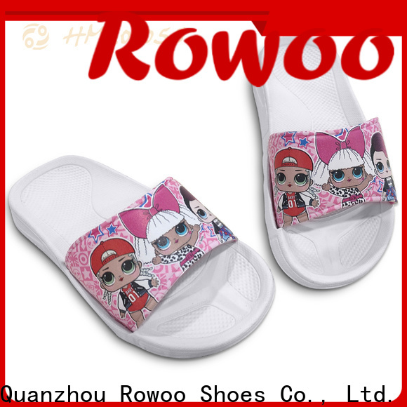 Rowoo Wholesale cute kids slippers best price