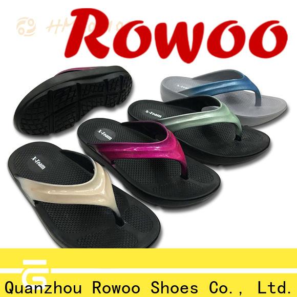 Rowoo Top kids pool sandals factory price