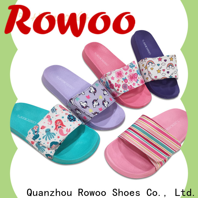 Rowoo flip flop slippers for kids manufacturer