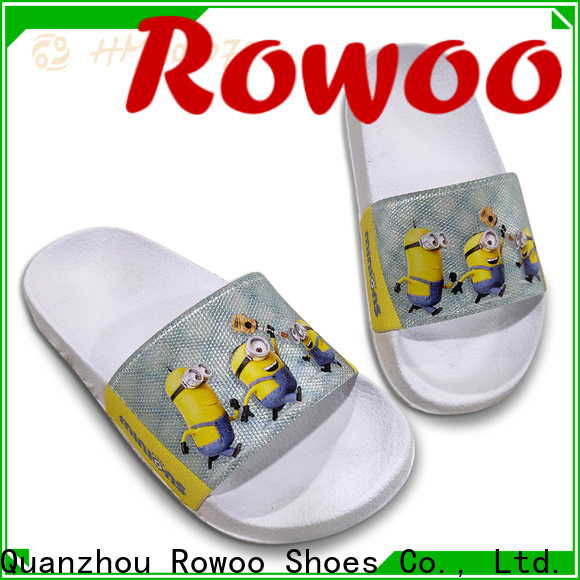 Rowoo professional slippers for girls kids supplier