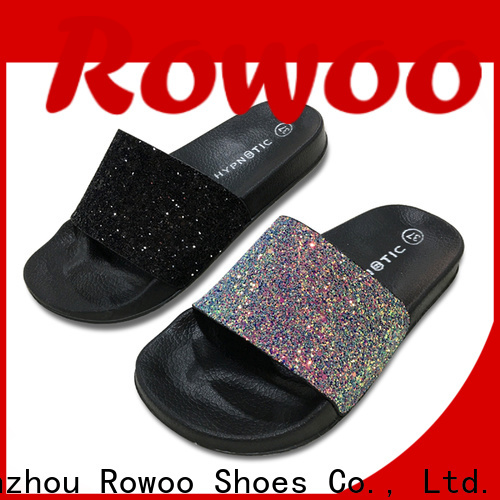 Rowoo china kids outdoor slippers factory price