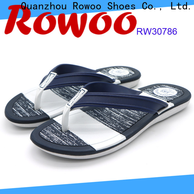 Rowoo men flip flops hot sale