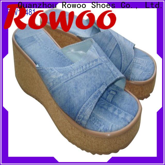 Rowoo platform heels slippers hot sale