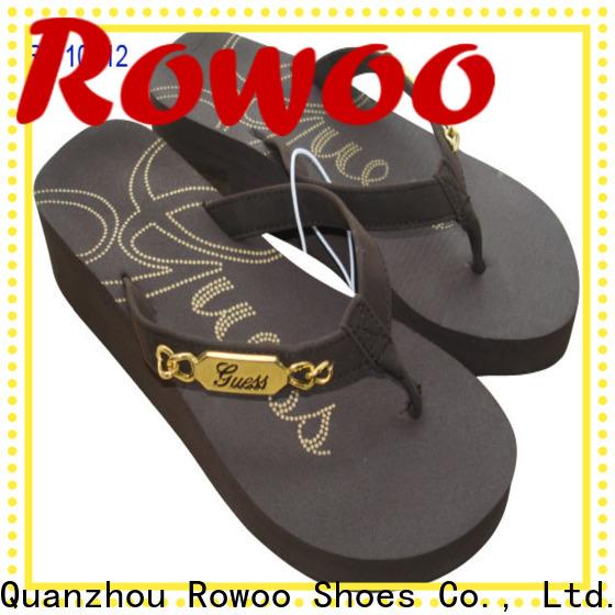 Rowoo china summer high heel sandals manufacturer