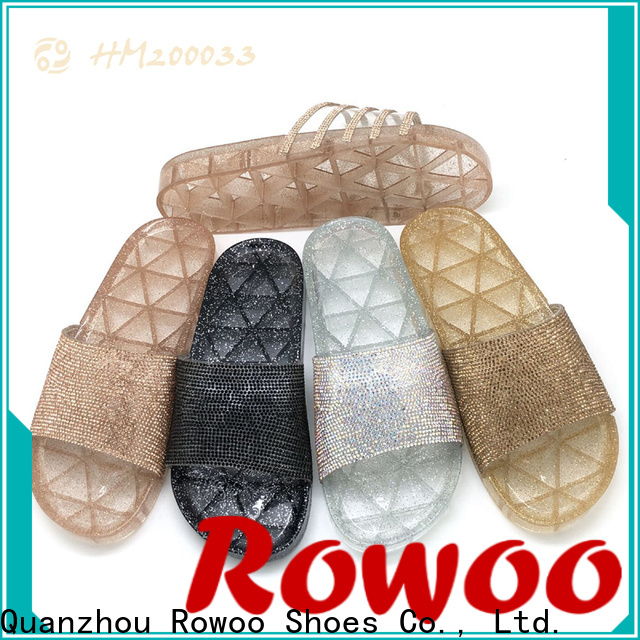 Rowoo comfortable slides womens factory price