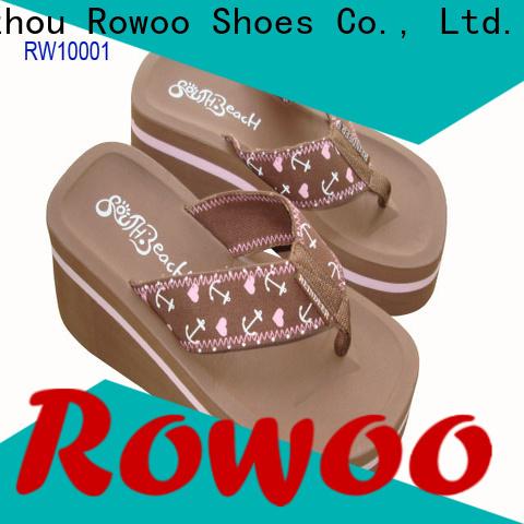 Rowoo fancy high heels sandals manufacturer