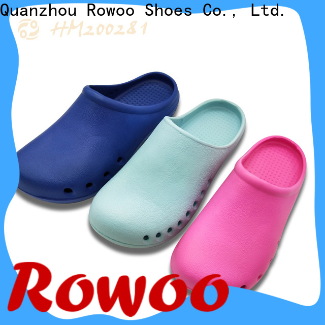 Rowoo popular sandals with holes factory price