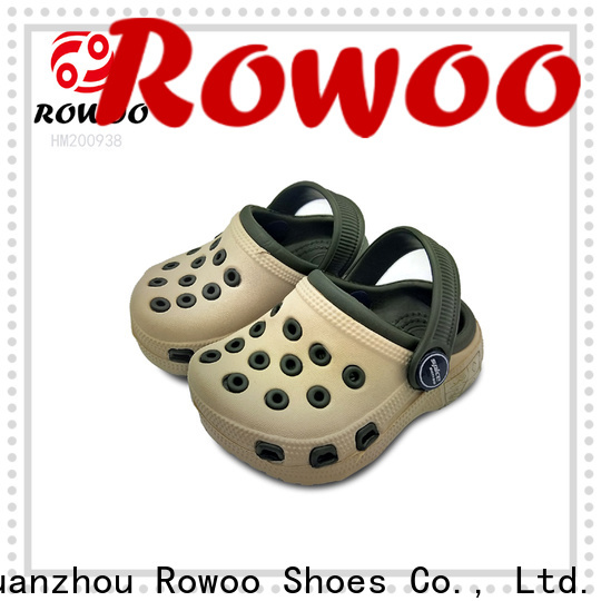 Rowoo leather gardening boots manufacturer