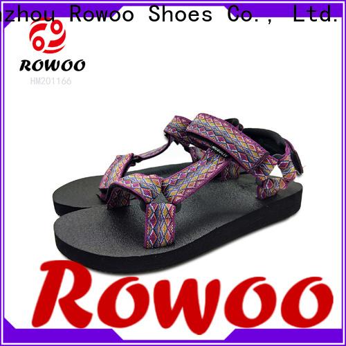 Rowoo mens walking sandals factory price
