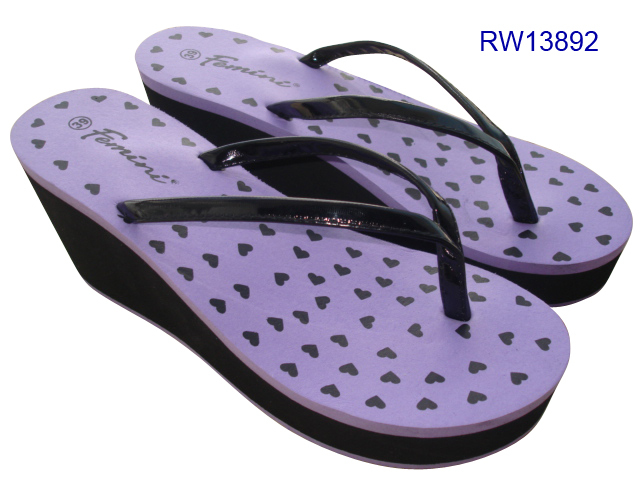 Wholesale High Wedge Flip Flops For Women