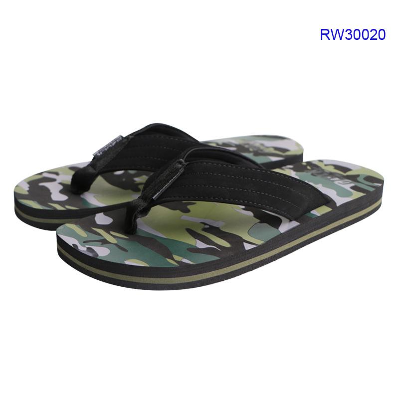 Camouflage Men Flip Flop Sandals High Quality Slippers for Summer