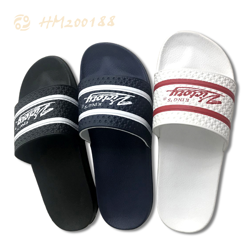 Best Logo Customized Men Slides Sandals Slip-on Slippers