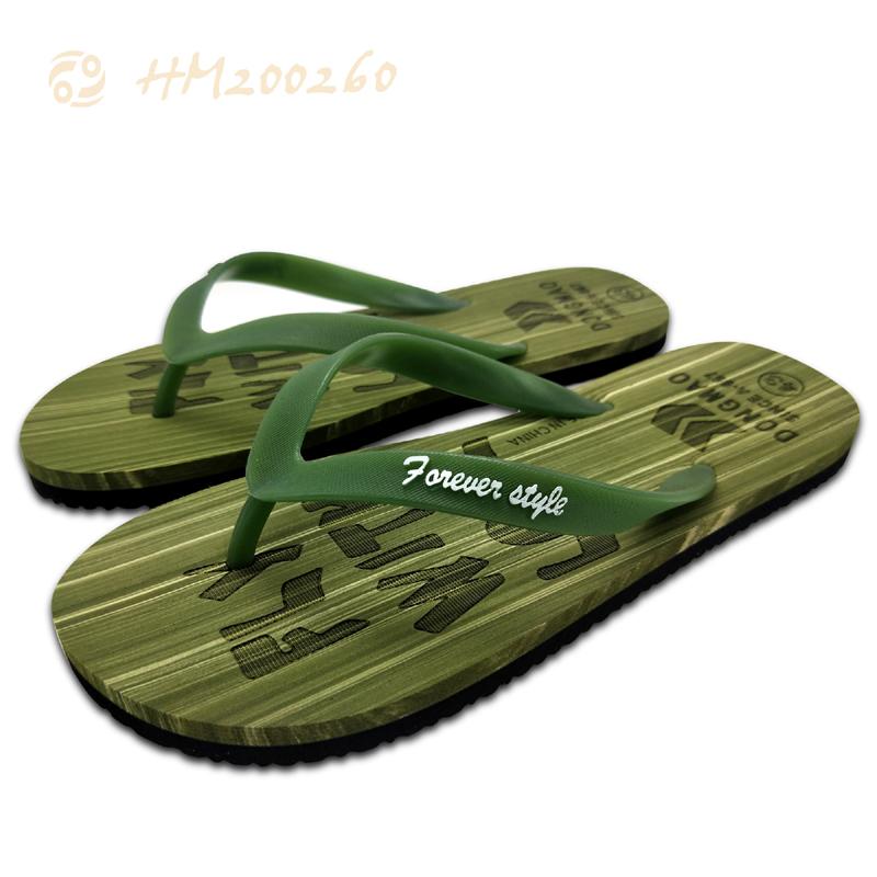 Lime Green Men Beach Flip Flops,China Factory Men Slippers