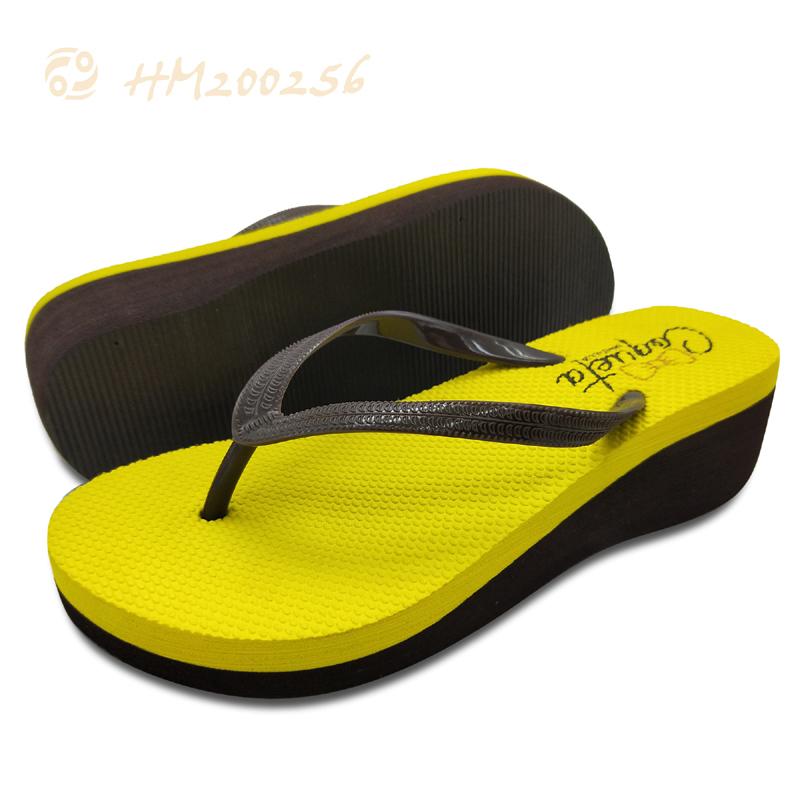 Ladies Heels Flip Flops Sandal Platform Wedge Thong Slippers Womens