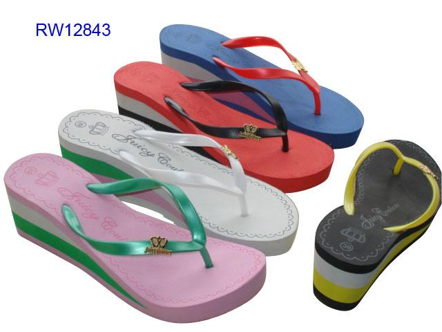 Wedge Platform Flip Flops Women Slippers Sandals High Heel Slippers Ladies