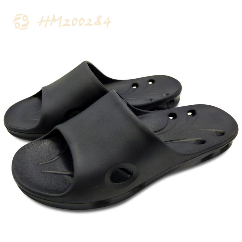 Men Shower Slide Slippers,Rubber Anti-slip Sandals