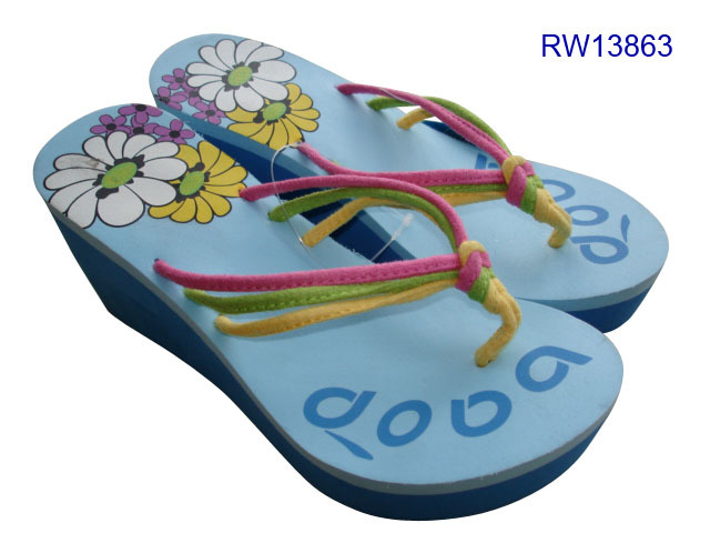 Ladies Wedge Flip Flop Sandal Slippers For Women Hot Sale 2021