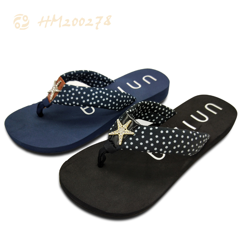 Women Starfish Fashion Flip flops,Casual Slippers for Ladies Shoes