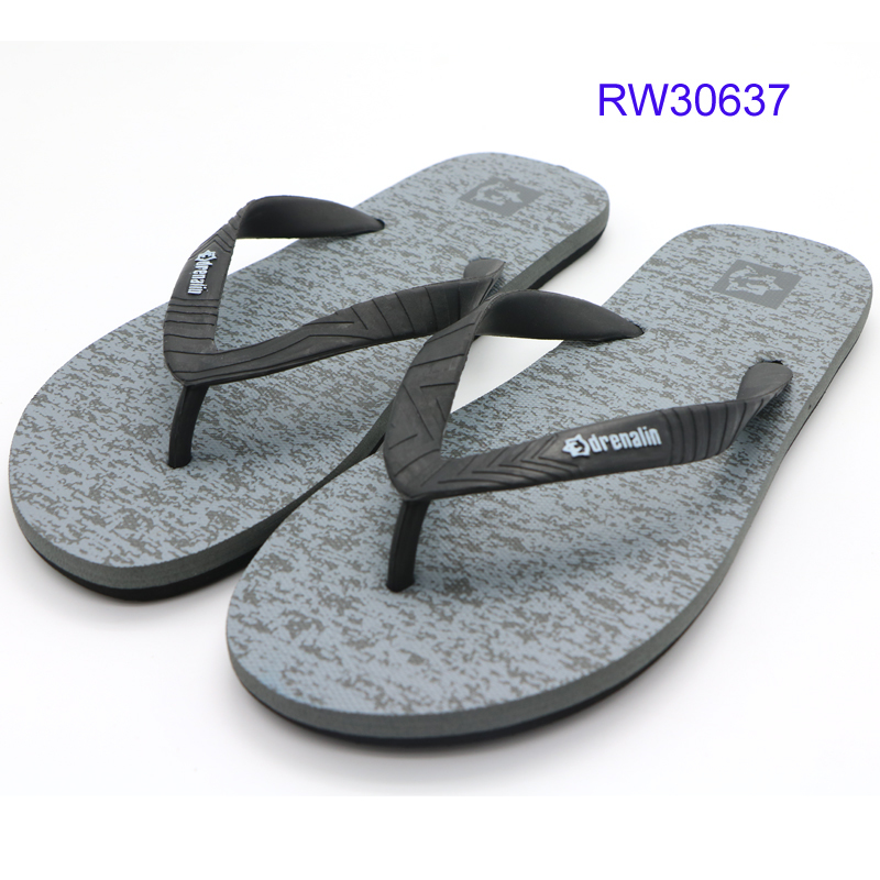 Factory Men Flip Flops,Print Men EVA Slippers