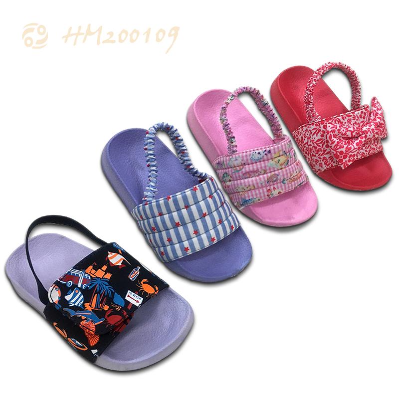 Girls Sandals Summer Shoes Cartoon Slipper For Kids