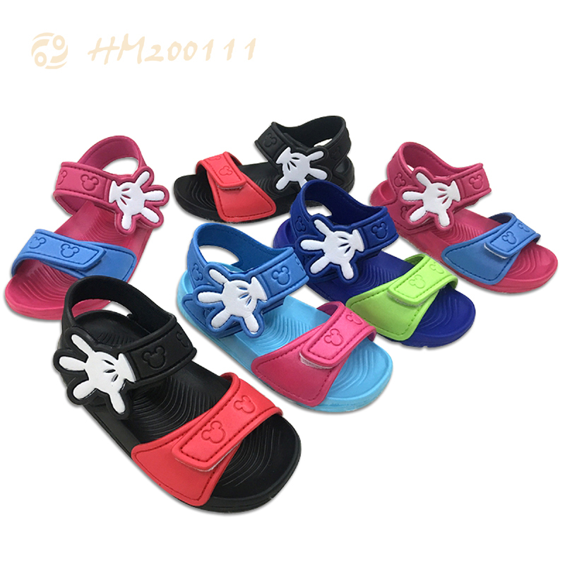 Wholesale Baby Sandals Boy Slippers Summer Simple Beach