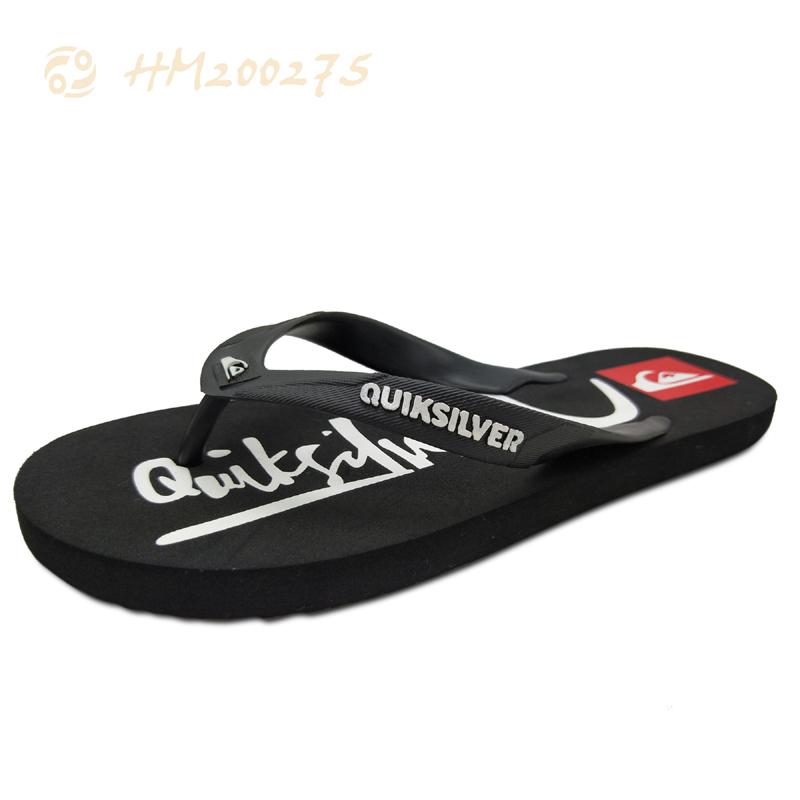 Customized Men Flip Flops Printed Beach Sandals