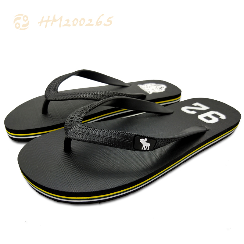 Breathable Men Flip Flop Sandals Striped Slippers