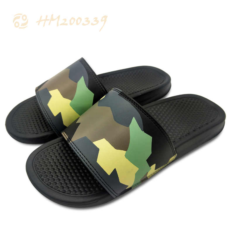 2021 New Print Men Slide Slippers Soft EVA Sole Sandal Shoes