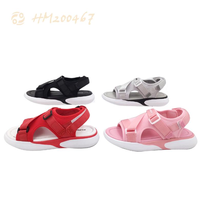 Summer Canvas Sandals for Kids Lightweight Children Anti-slip Slipper Sandals