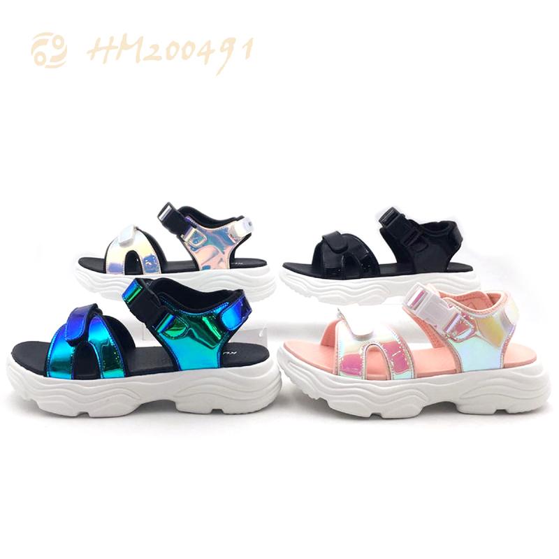 Wholesale 2021 Kids Sandals Summer Soft Bottom Pu Sandals for Children