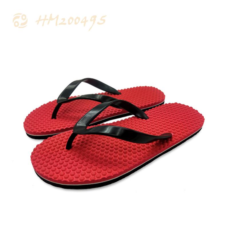 Customized Men Flip Flops for Beach Massage Anti-slip Slipper Sandals