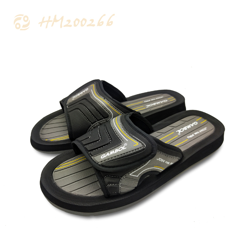 New Men Beach Slippers Customized Slides Sandals Wholesale
