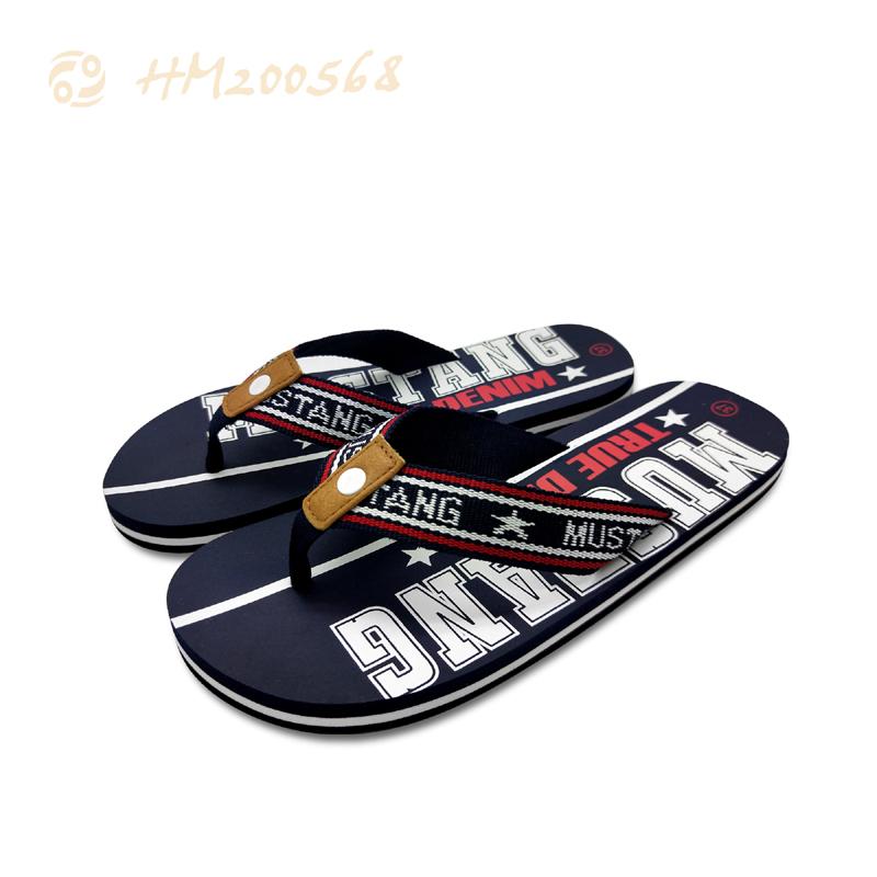 New Style Men Beach Outdoor Flip Flops Casual Slipper Sandals for Summer